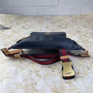 Coach C4035 Pvc Leather Cross Body Bag